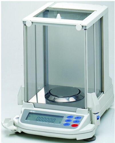 A&d Gr-200 Analytical Lab Balance  210 G X 0.1 Mg New