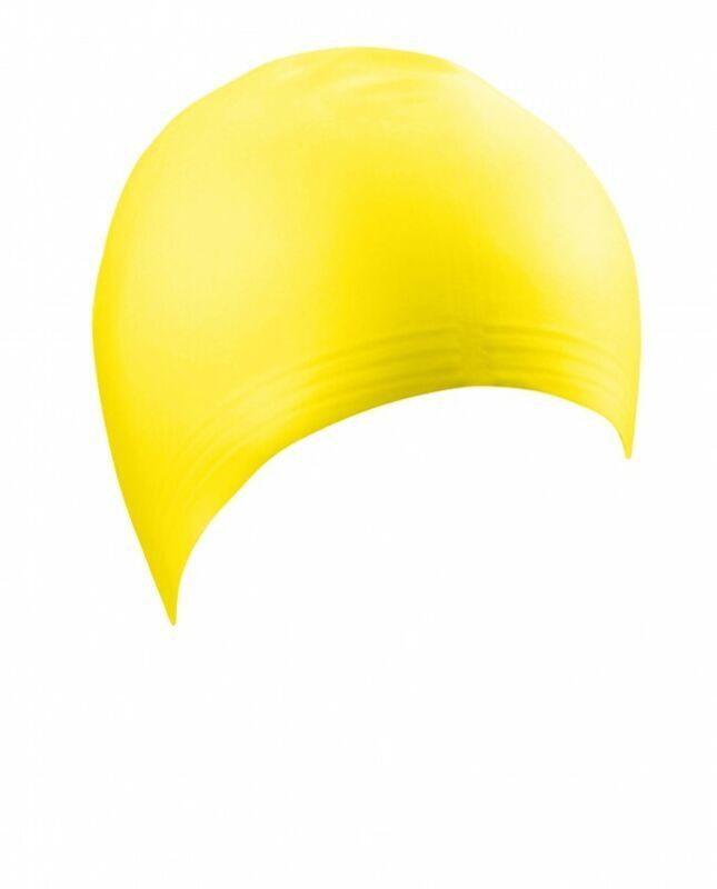 Beco+Adult+Latex+Swim+Caps+-+Yellow+-+Bargain+Multi+Buy+Pack+6