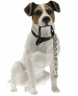 Sitting Jack Russell Dog Ornament - From The Walkies Range Of Collectable Dogs