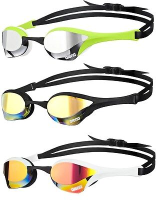 ( New ultimate racing goggles arena cobra ultra mirror 5 new colors available  )