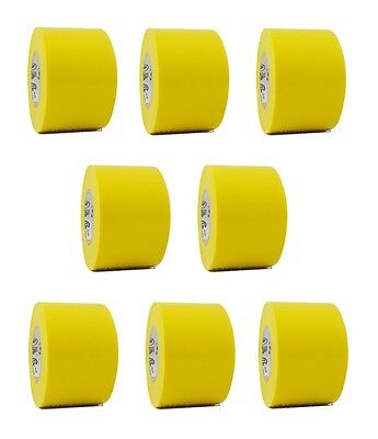 8 Rolls Yellow Vinyl Pvc Electrical Tape 2 X 66 Flame Retardant Free Shipping