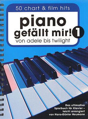 Piano gefällt mir Band 1 Hans-Günter Heumann Noten für Klavier leicht Spiralbdg.