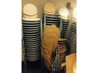 Wanted - Office / Cafe / Dining / Restaurant / Folding / Stackable Chairs