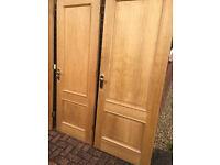 OAK VANEER DOORS