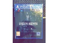 Brand New PS4 game Gran Turismo and Hidden Agenda for sale