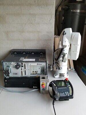 Staubli Set - Tx40 Robot Arm Cs8c Controller Sp1 D211 421 06 Teaching Pendant