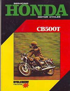 Cb500f Workshop Manual Ebook