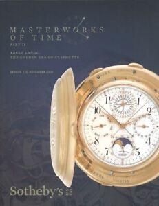 Sotheby's Catalogue Geneva, Masterworks of Time 11 November Part II 2019 HB