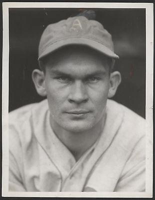 1933 Orig 1St Gen Press Photo  Frank Higgins  Athletics