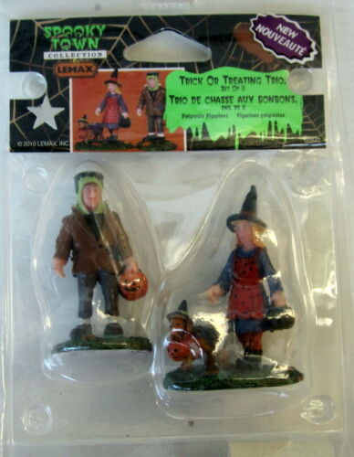 LEMAX Spooky Halloween Trick Or Treating Trio