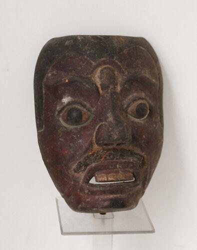 Antique BALI mask, fine carving, topeng