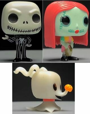 Funko Pop Nightmare Before Christmas Advent Calendar 3X Figures - Jack Sally SET