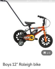 12 inch boys Raleigh bike