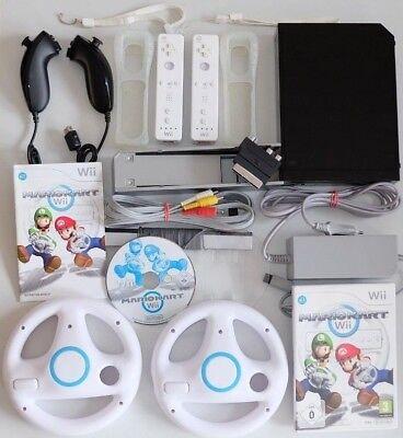 Nintendo Wii Konsole Mario Kart Pack - 2 Spieler Set - original Nintendo
