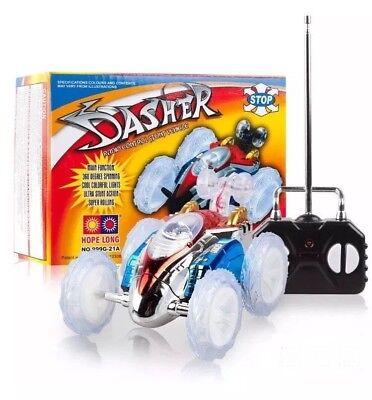 Turbo 360 Twister RC Stunt Car Flashing Light Dasher Vehicle Remote Control Toy
