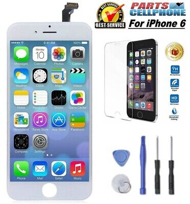 For iPhone 6 Screen Replacement LCD Display Touch Digitizer Assembly White