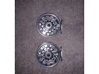 2x Hardy demon 7000 fly reels