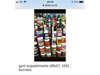 Supplemebts for all Gym needs