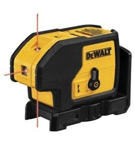 Dewalt laser 3 points / 3 beam lazer pointer NEUF new DW083K