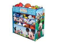 Disney's Mickey Mouse Multi Toy Organiser. kids Toy Storage unit.