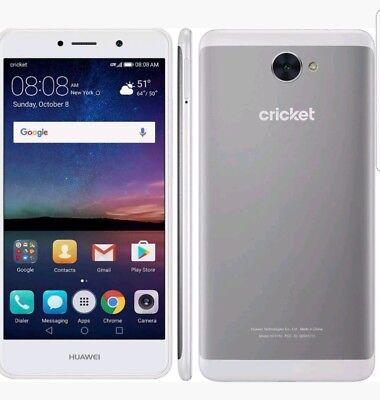 "CricketWirelessHuawei Elate 16GB 5.5"" 12MP Octa Core Smartphone"