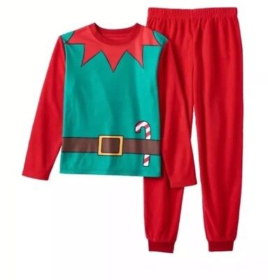 NEW Toddler Elf Suit Pajama Set Holiday Christmas Famjams by Vayola - Size 2T - Elf Suit