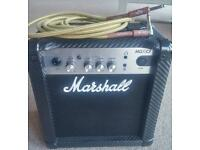Marshall MG10CF guitar amp