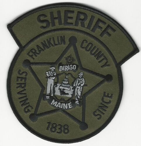 SWAT SRT Subdued Franklin County Sheriff State Maine ME
