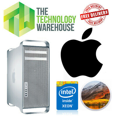 Apple Mac Pro Quad Core - 2012 - 5.1 - Xeon W3565 CPU 16GB Ram 1TB High Sierra