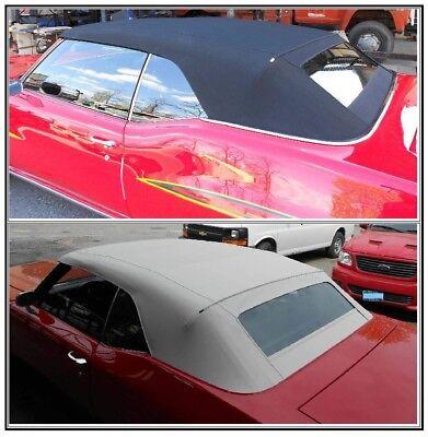 BUICK GS, SKYLARK, SPECIAL 68-72  CONVERTIBLE TOP+GLASS WINDOW - BLACK Buick Skylark Convertible Top