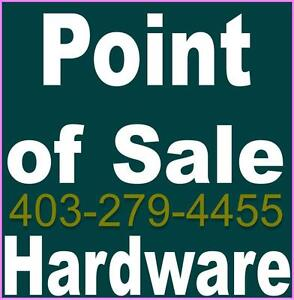 Point of Sale Hardware and software and parts