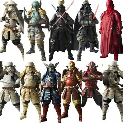 Star Wars Marvel Samurai Darth Vader trooper Boba Fett  Action Figuren Sammeln