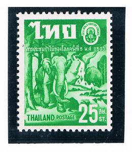 THAILAND-1960-World-Forestry-Congress-Wild-Elephant