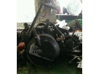 Mtx 125 engine