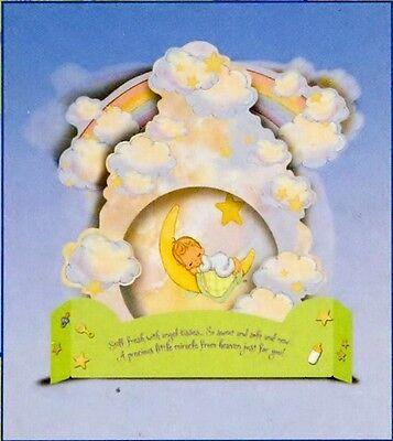 Precious Moments Baby Boy Shower Centerpiece