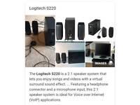 Logitech 2.1 speaker system