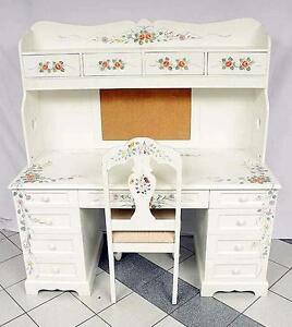 Hardwood Desk & Chair