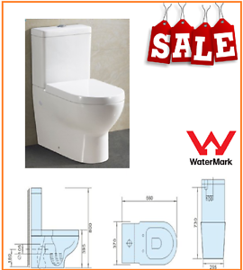 Toilet Suite Back To Wall P & S Trap Soft Close Lid Ceramic SALE Caroline Springs Melton Area Preview