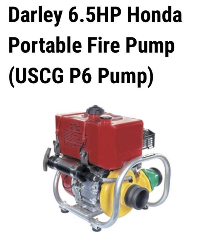 Darley Fire Pump 2BE6.5HCG