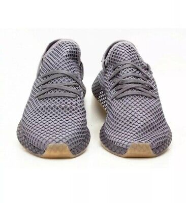 Adidas deerupt Runner Sneakers Trainers Casual Shoe Mens Shoes Grey Size 9.5