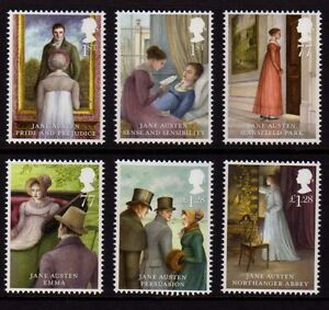 GB 2013 Jane Austin Mint Never Hinged Set @@NEW@@ MNH