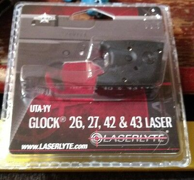 Laserlyte Laser Trigger Guard Sight Fits Glock 26 27 42 43 Black  Uta Yy Sale