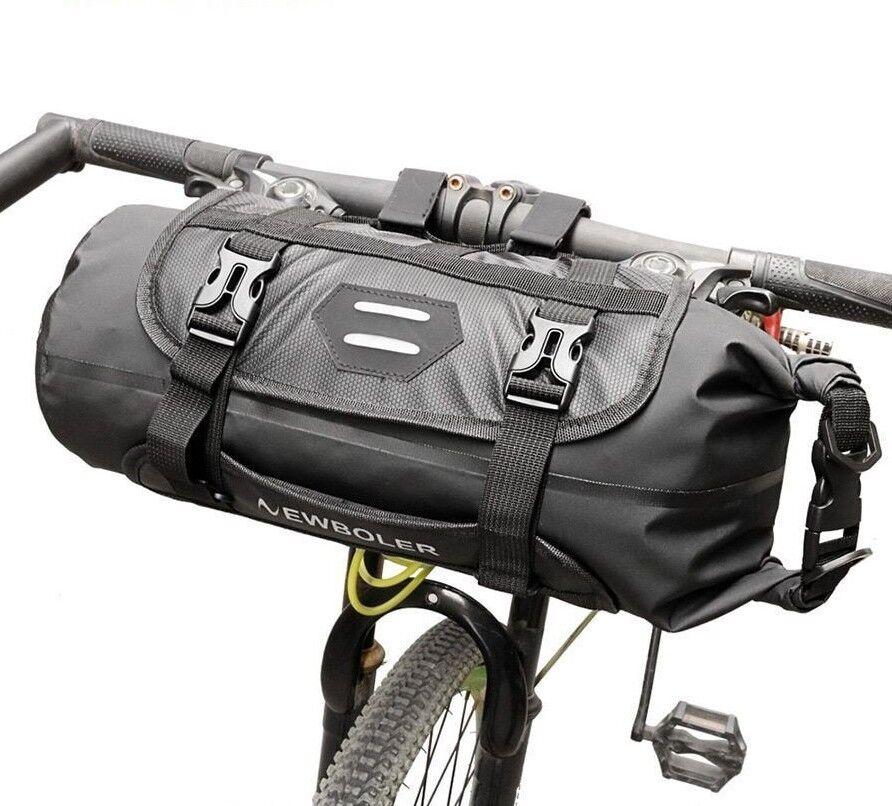 bike front tube bag waterproof bicycle handlebar