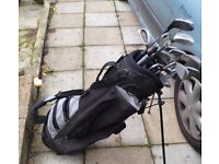 Golf bags/ mixed clubs