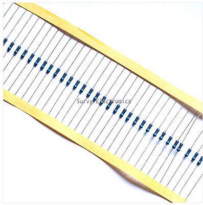1000pcs 14w Watt 10k Ohm 10kohm Metal Film Resistor 0.25w 100000r 1