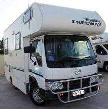 2002 MAZDA E2500 WINNEBAGO FREEWAY 2.5L TURBO DIESEL MOTORHOME Cannington Canning Area Preview