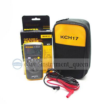 Fluke 101 Portablehandheld Digital Multimeter With Soft Case New F101