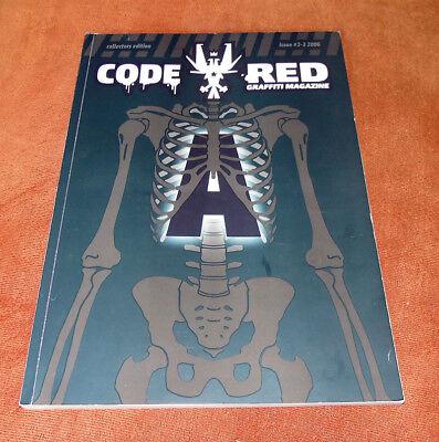 "Graffiti Magazine ""CODE RED"" #02-03 Europa Weltweit 2006 Montana Belton"