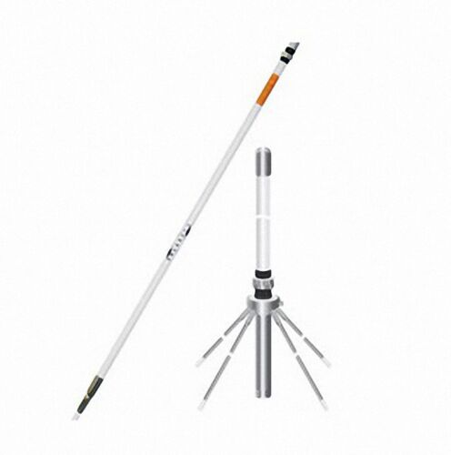 SOLARCON A99CK 17′ OMNI-DIRECTIONAL FIBERGLASS BASE STATION ANTENNA GROUND PLANE