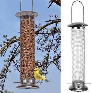 Futtersilo Vogelfutterstation zum Hängen Metall (57143) Vogelfutterbehälter